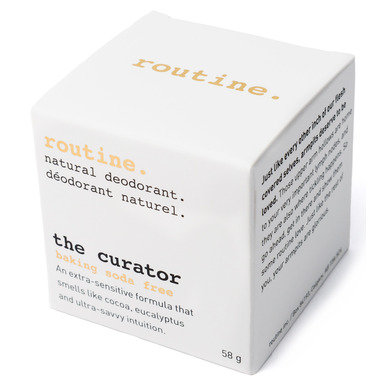 Routine Baking Soda Free De-Odor-Cream Natural Deodorant The Curator