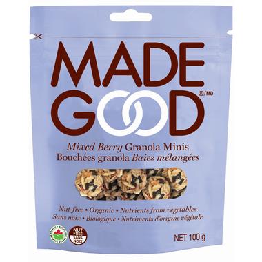 MadeGood Mixed Berry Granola Minis Bag