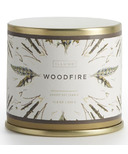 ILLUME Woodfire Large Tin Candle