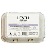 Level Naturals Bath Bombs Lavender + Chamomile