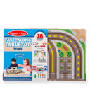 Melissa & Doug Take Along Vehicle Set Town
