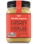 Wedderspoon Raw Wild Rata Honey