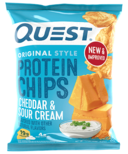 Quest Nutrition Cheddar & Sour Cream Protein Chips