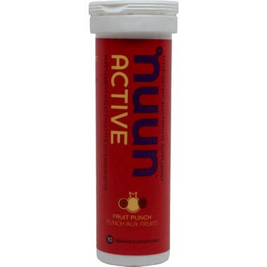 Nuun Active Effervescent Electrolyte Supplement Fruit Punch