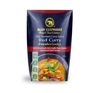 Blue Elephant Thai Premium Red Curry Sauce