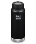 Klean Kanteen TKWide With Loop Cap Shale Black