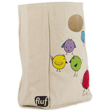 Fluf Chirp Organic Lunch Bag