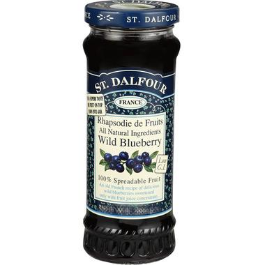 St. Dalfour Deluxe Spread Wild Blueberry