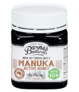 Barnes Naturals Manuka Honey NPA 10+