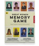 Cartes mémoire Kikkerland Great Women