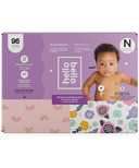 Hello Bello Club Box Diapers Pink Rainbows Spring Blooms