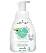 ATTITUDE Baby Leaves 2-in-1 Foaming Wash Apple