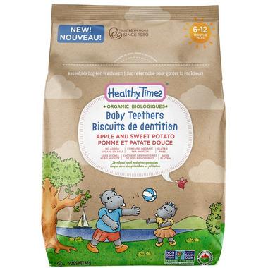 Healthy Times Organic Baby Teethers Apple & Sweet Potato