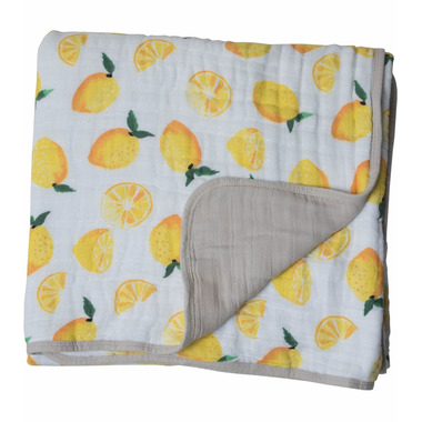 Little Unicorn Muslin Quilt Lemon