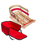 Flexible Flyer Wooden Sled Bundle
