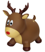 Holiday Hoppers Inflatable Bouncing Reindeer