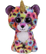 Ty Wanna B's Giselle the Rainbow Leopard with Horn Regular