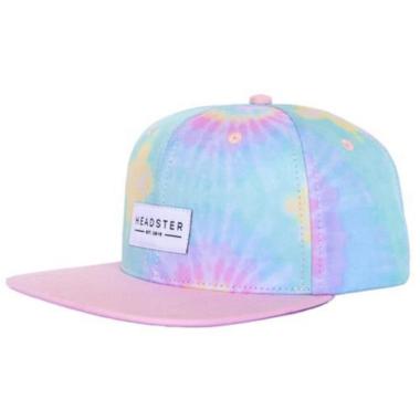 Headster Kids Tie Dye Pink Cap