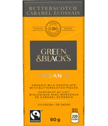 Green & Black's Organic Milk Chocolate Butterscotch