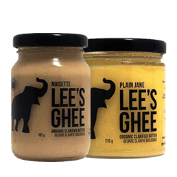Save 20% on Lee's Ghee and Tea