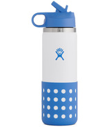 Hydro Flask Kids Wide Mouth Bottle White Cove
