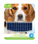 FouFit Cooling Collar Large Blue