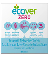 Ecover Zero Automatic Dishwasher Tablets Fragrance Free
