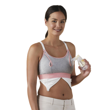 Bravado Designs Clip and Pump Hands-Free Nursing Bra Accessory