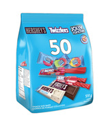 Hershey's Assorted Halloween Snack Size Bars 50 Pack