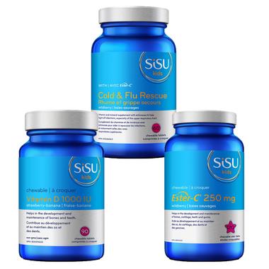 SISU Cold & Flu Prevention for Kids Bundle