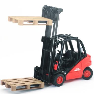Bruder Toys Linde H30D Fork Lift With Pallets