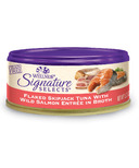 Wellness Signature Selects Flaked Skipjack Tuna & Salmon Wet CASE OF 12