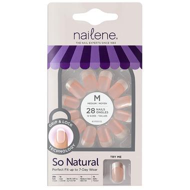 Nailene So Natural Ultra Flex Artificial Nails