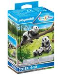 Playmobil Family Fun Pandas with Cub