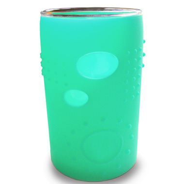 Silikids Siliskin Glass 6oz Sea Green