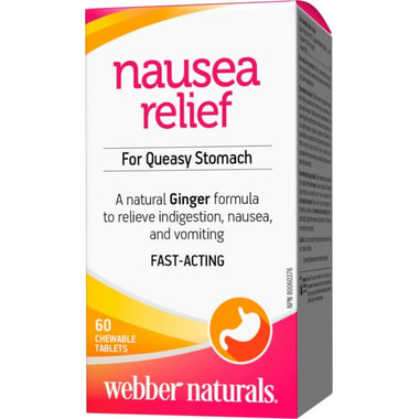 Webber Naturals Organic Ginger Clinical Strength 500 mg