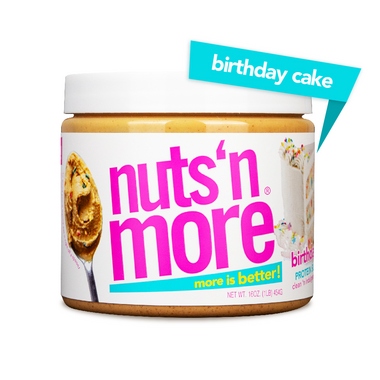 Nuts n More Birthday Cake Protein Peanut Spread