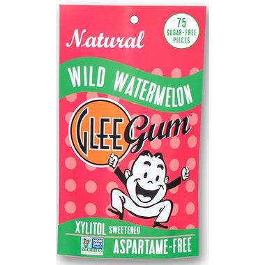 Glee Gum All Natural Sugar Free Watermelon Gum Bag