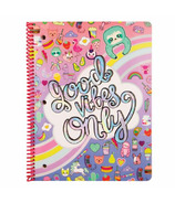 Fashion Angels Good Vibes Only Spiral Notebook