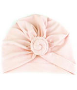 Baby Wisp Bohemian Knot Hat Soft Pink
