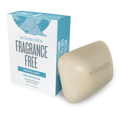 Schmidt\'s Naturals Fragrance Free Bar Soap