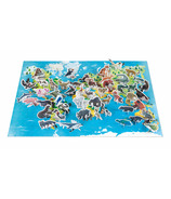 Janod Educational Puzzle Endangered Animals