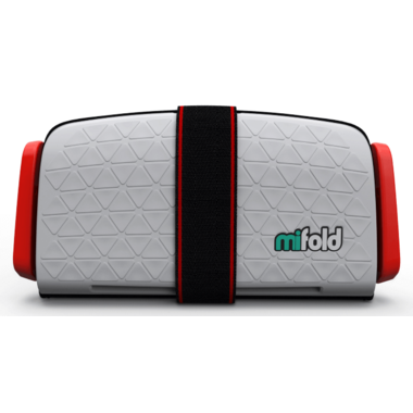 mifold Grab-and-Go Booster Seat Pearl Grey