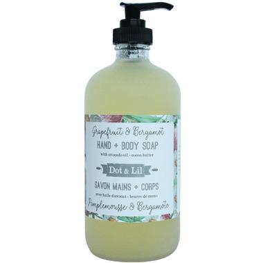 Dot & Lil Grapefruit & Bergamot Liquid Hand & Body Soap