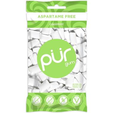 PUR Sugar-Free Coolmint Gum Bag