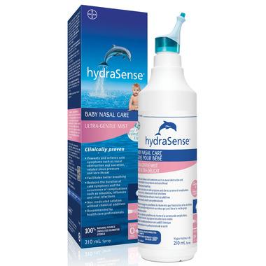 hydraSense Baby Nasal Care Ultra Gentle Mist Large Bottle