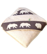 Oko Creations Organic Hooded Baby Bath Towel Little Bear