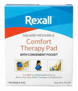 Rexall Reusable Comfort Therapy Pad Square