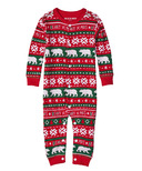 Hatley Little Blue House by Hatley Baby Union Suit Beary Xmas