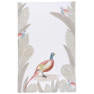 Now Designs Tea Towel Pheasantwood Print